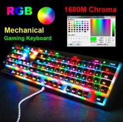 Ajazz 104 Keys Robocop Mechanical Keyboard | Shop For Gamers
