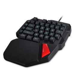 AVATTO 38-Key Single Hand USB Backlit Keyboards | Shop For Gamers