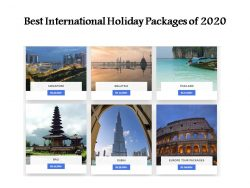 Best International Holiday Packages of 2020