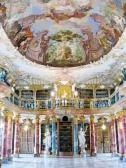 WIBLINGEN MONASTERY LIBRARY — ULM, GERMANY