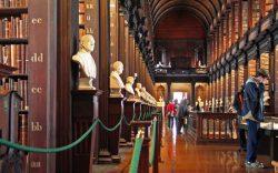 TRINITY COLLEGE LIBRARY — DUBLIN, IRELAND