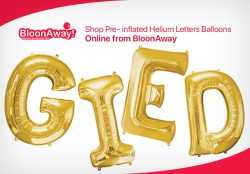 Shop Pre- inflated Helium Letters Balloons Online from BloonAway