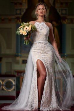 Schöne Abendkleider Spitze | Abiballkleider Lang Günstig