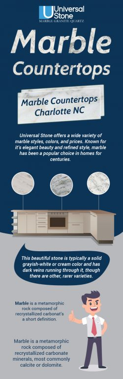 Choose an Attractive & Durable Marble Countertop from Universal Stone