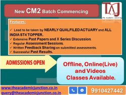 CM2 CH 12 Derivatives Part1| Actuarial Science| Experienced Faculty | All India Topper