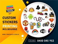 Custom Sticker Printing Melbourne – Print Quick