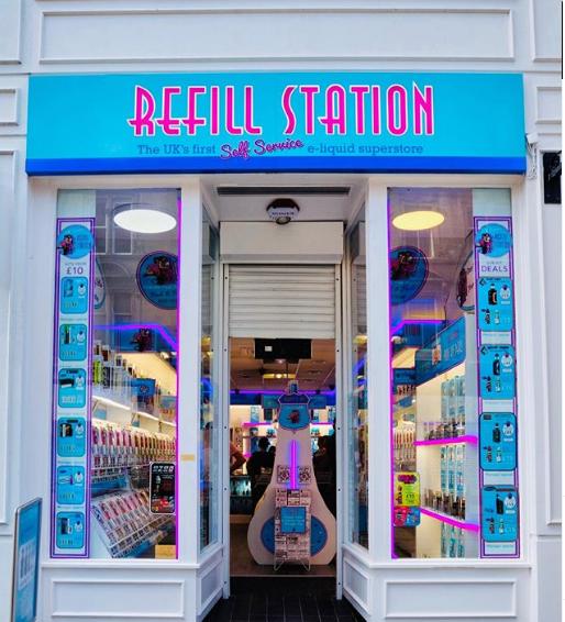 Buy vape online uk from Refill Station