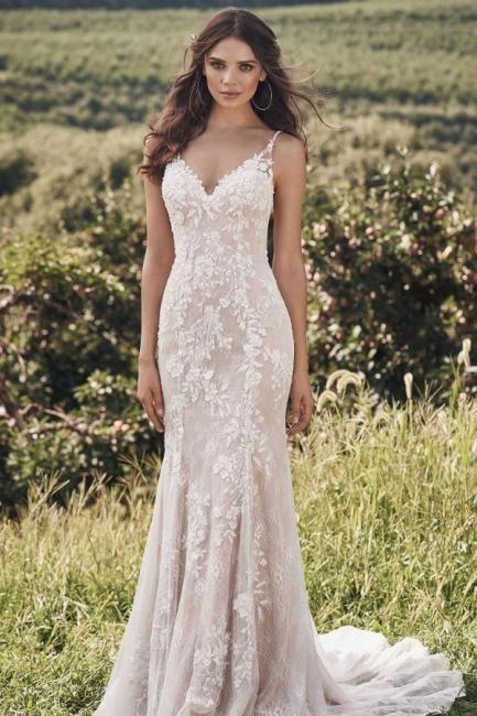 Designer Brautkleid Meerjungfrau | Hochzeitskleider mit Spitze Online
