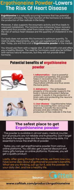 The safest place to get ergothioneine powder