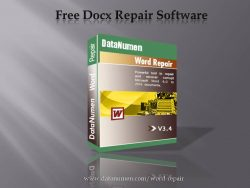 Free Docx Repair Software