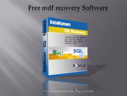 Free mdf recovery Software