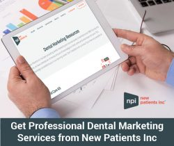 Get Professional Dental Marketing Services from New Patients Inc