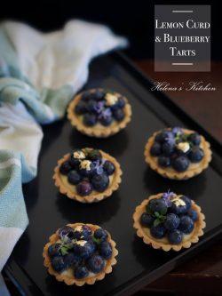藍莓檸檬醬塔