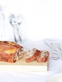 大理石磅蛋糕 (Marble Pound Cake)