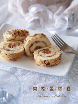 肉松蛋糕卷 (Pork Floss Swiss Roll)