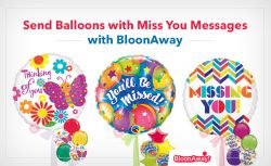 Send Balloons with Miss You Messages with BloonAway