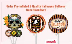 Order Pre-inflated & Quality Halloween Balloons from BloonAway