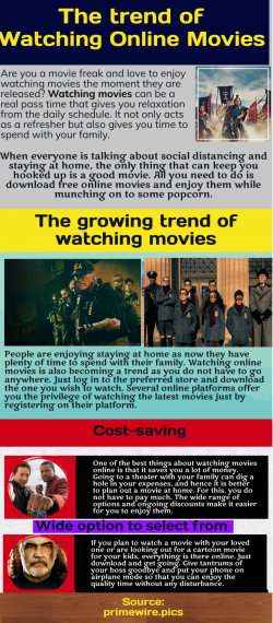 Watch Free Online Movies-Best Way To Pass Out Time