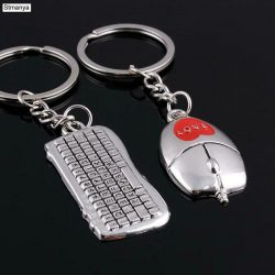 Keyboard Mouse Key Chain