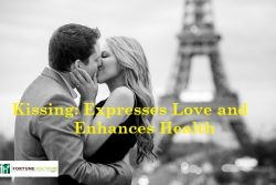 Kissing: Expresses Love and Enhances Health