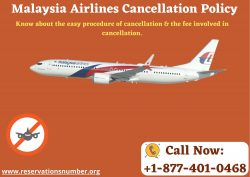 24 Hrs Easy Cancellations with Malaysia Airlines Cancellation Policy