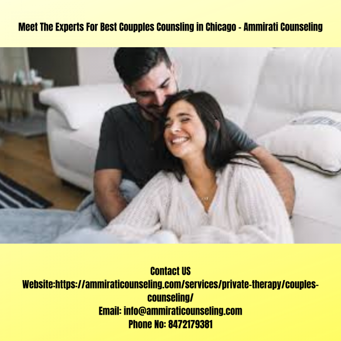 Get The Best Marriage Counseling Therapist in North Chicago – Ammirati Counseling
