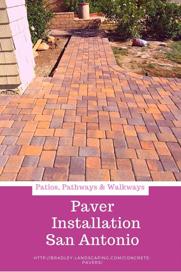 Paver Installation San Antonio