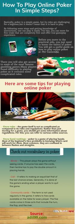 Do gambling With Pkv Games QQ