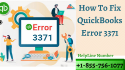 Get instant help for QuickBooks Error 3371 at +1-855-756-1077