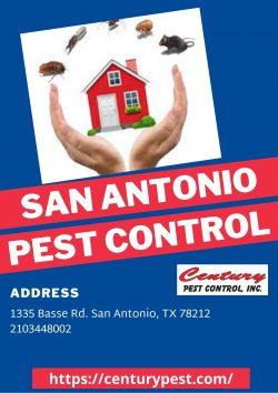 San Antonio Pest Control – Century Pest Control
