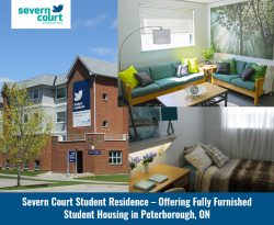 Severn Court Student Residence – Offering Fully Furnished Student Housing in Peterborough, ON