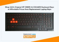 Shop 100% Original HP OMEN 15-CE018DX Keyboard Keys at Affordable Prices from Replacement Laptop ...