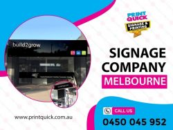 Signage Company Melbourne – Print Quick