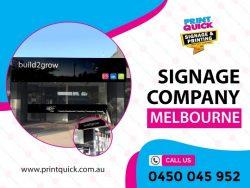Signage Company Melbourne – Print Quick