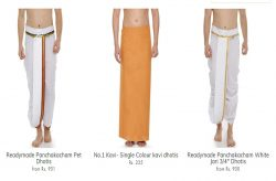 south indian dhoti online