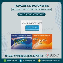 Tadalafil Dapoxetine Tablets Online in India