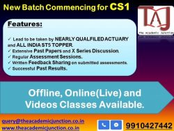 Latest CS1 Introductory Session by Puneet Goyal| Experienced Faculty| All India Topper