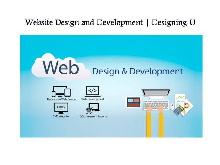 Website Design and Development   Designing U