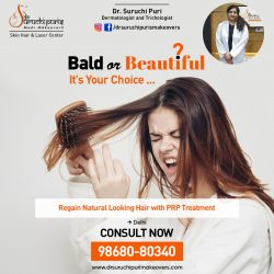 PRP Treatment in Delhi tp Regain Natural Looking Hair