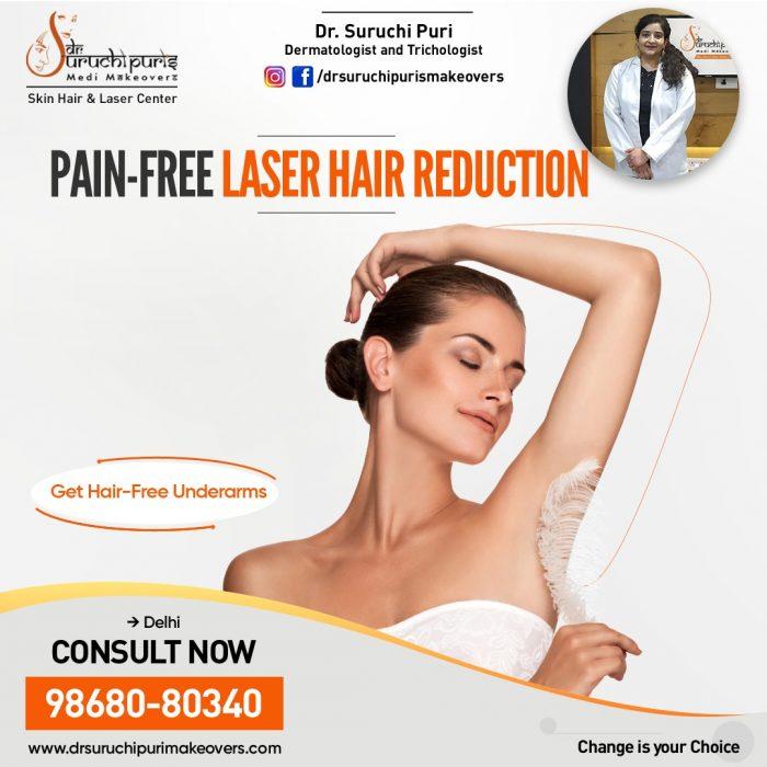 Laser Hair Reduction In Delhi- Best Dermatologist in Delhi