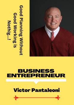 Business Entrepreneur   Victor Pantaleoni