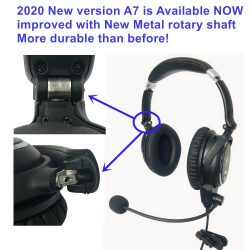 Affordable ANR aviation headsets