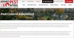 Ants control Abbotsford