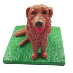Golden retriever Pet Custom Bobblehead