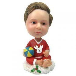 Custom Christmas Gift Baby Bobbleheads