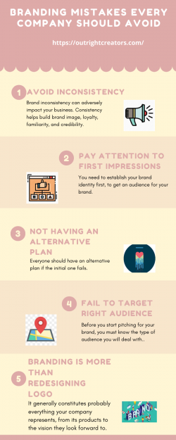 Branding Mistakes Every Company Should Avoid