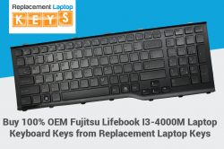 Buy 100% OEM Fujitsu Lifebook I3-4000M Laptop Keyboard Keys from Replacement Laptop Keys