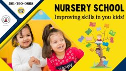Comfort your Child with Our Nursery School