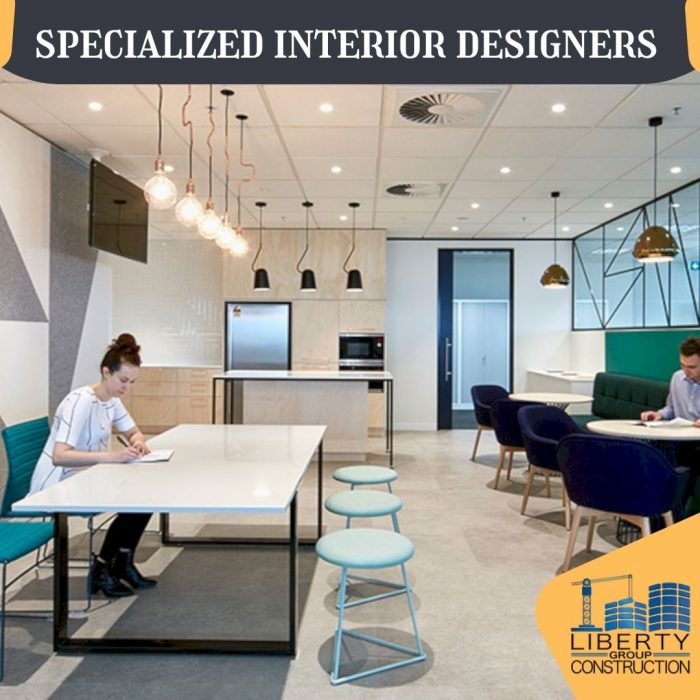 Commercial and Corporate Interior Designers