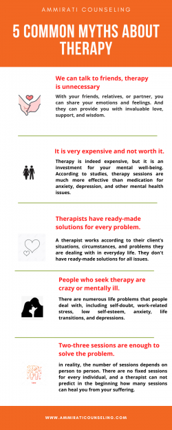 5 Common Myths About Therapy